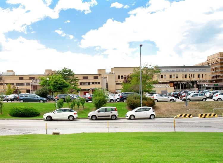 Lavori in corso all'Ospedale San Salvatore - L'Aquila